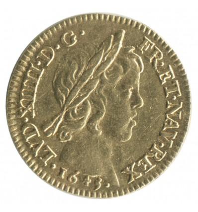 Demi Louis d'or à la Mèche Courte - Louis XIV