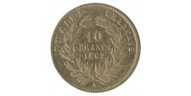 10 Francs Napoléon III Tête Laurée Grand Module