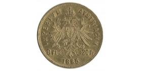 8 Florins / 20 Francs François Joseph Ier