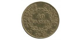 40 Francs Bonaparte 1er Consul