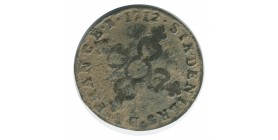 Six Deniers Dit Dardennes - Louis XIV