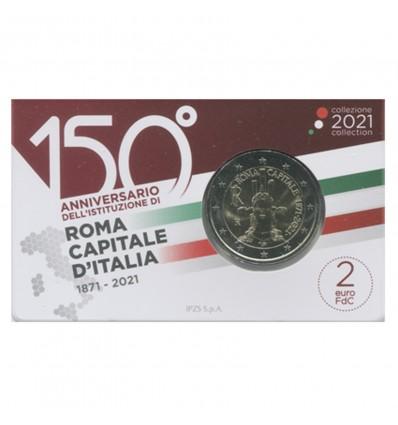 2 Euros Commémorative Italie 2021 - BU