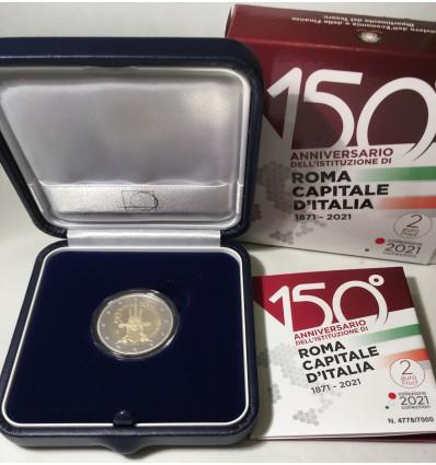 2 Euros Commémorative Italie 2021 - BE