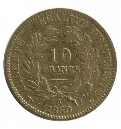 10 Francs Cérès Seconde République
