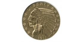 5 Dollars Indien - Etats-Unis