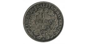 1 Franc Cérès Troisième République