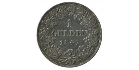 1 Gulden Louis Ier - Allemagne Bavière Argent