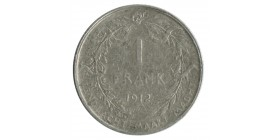1 Franc Albert Ier Légende Flamande - Belgique Argent