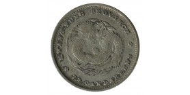 10 Cents - Chine Kwang Tung Argent