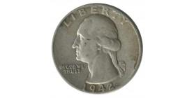 1/4 Dollar Washington Etats-Unis Argent