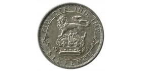 6 Pence Georges V - Grande Bretagne Argent