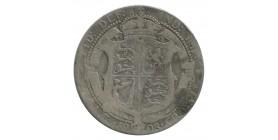 1/2 Couronne Edouard VII - Grande Bretagne Argent