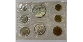 Série Fleur de Coin (F.D.C) France 1968 sans boîte