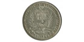 1 Bolivar - Venezuela Argent