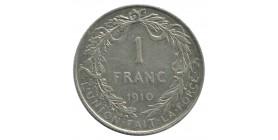 1 Franc Albert Ier Légende Française - Belgique Argent