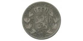 5 Francs Leopold Ier - Belgique Argent
