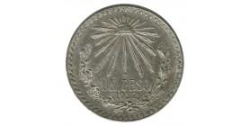 1 Peso - Mexique Argent