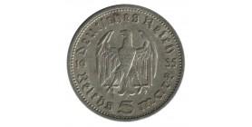5 Marks Hindenbourg - Allemagne Argent