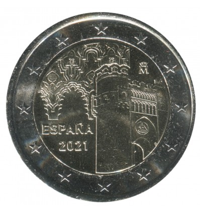 2 euros commémorative Espagne 2021