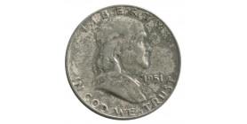 1/2 Dollar Franklin - Etats-Unis Argent