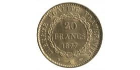 20 Francs Génie - Troisième République
