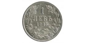 1 Lev Ferdinand Ier - Bulgarie Argent