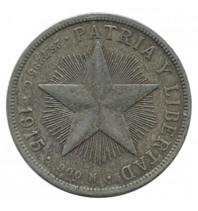 1 Peso - Cuba Argent