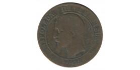 10 Centimes Napoléon III Tête Laurée