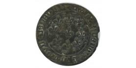 Jeton du Dauphiné frappé entre Charles VIII et François Ier