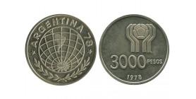 3000 Pesos Argentine Argent