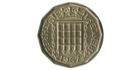3 Pence Elisabeth II - Grande Bretagne