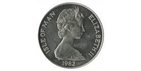 1 Couronne Elisabeth II - Ile de Man Argent