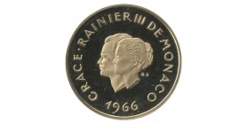 200 Francs Grace et Rainier Xème Anniversaire de Mariage - Monaco