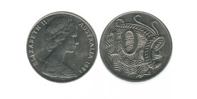 10 Cents Elisabeth II Australie