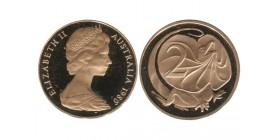 2 Cents Elisabeth II Australie