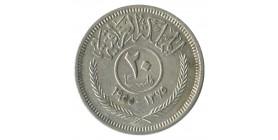 20 Fils Faisal II - Iraq Argent