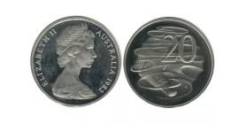 20 Cents Elisabeth II Australie