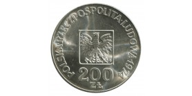 200 Zloty - Pologne Argent
