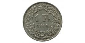 1 Franc - Suisse Argent
