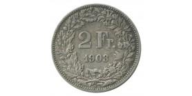 2 Francs - Suisse Argent