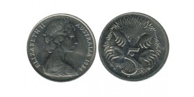 5 Cents Elisabeth II Australie