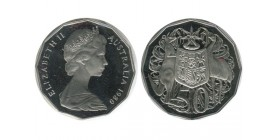 50 Cents Elisabeth II Australie