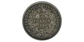 2 Francs Cérès Deuxième République