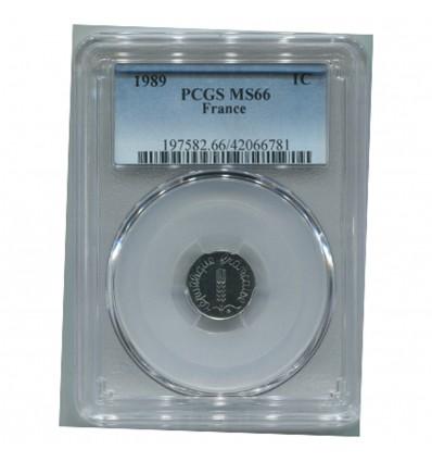 1 Centime Epi 1989 - PCGS MS66