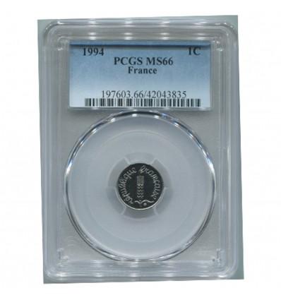 1 Centime Epi 1994 - PCGS MS66