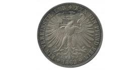 1 Thaler - Allemagne Francfort Argent