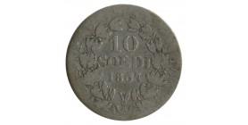 10 Soldi Pie IX - Vatican Argent