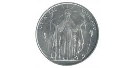 5 Lires Paul VI - Vatican