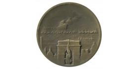 Médaille Visite de l'Américan Légion en France par P.Dautel
