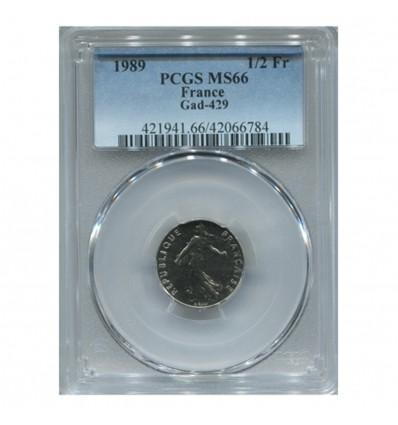 1/2 Franc Semeuse - PCGS MS66